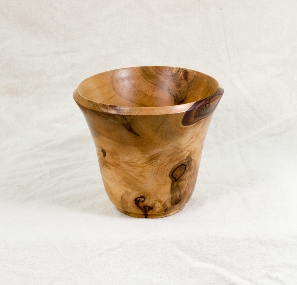 Maple burl, 4.5 inches diameter x 5.5 inches high