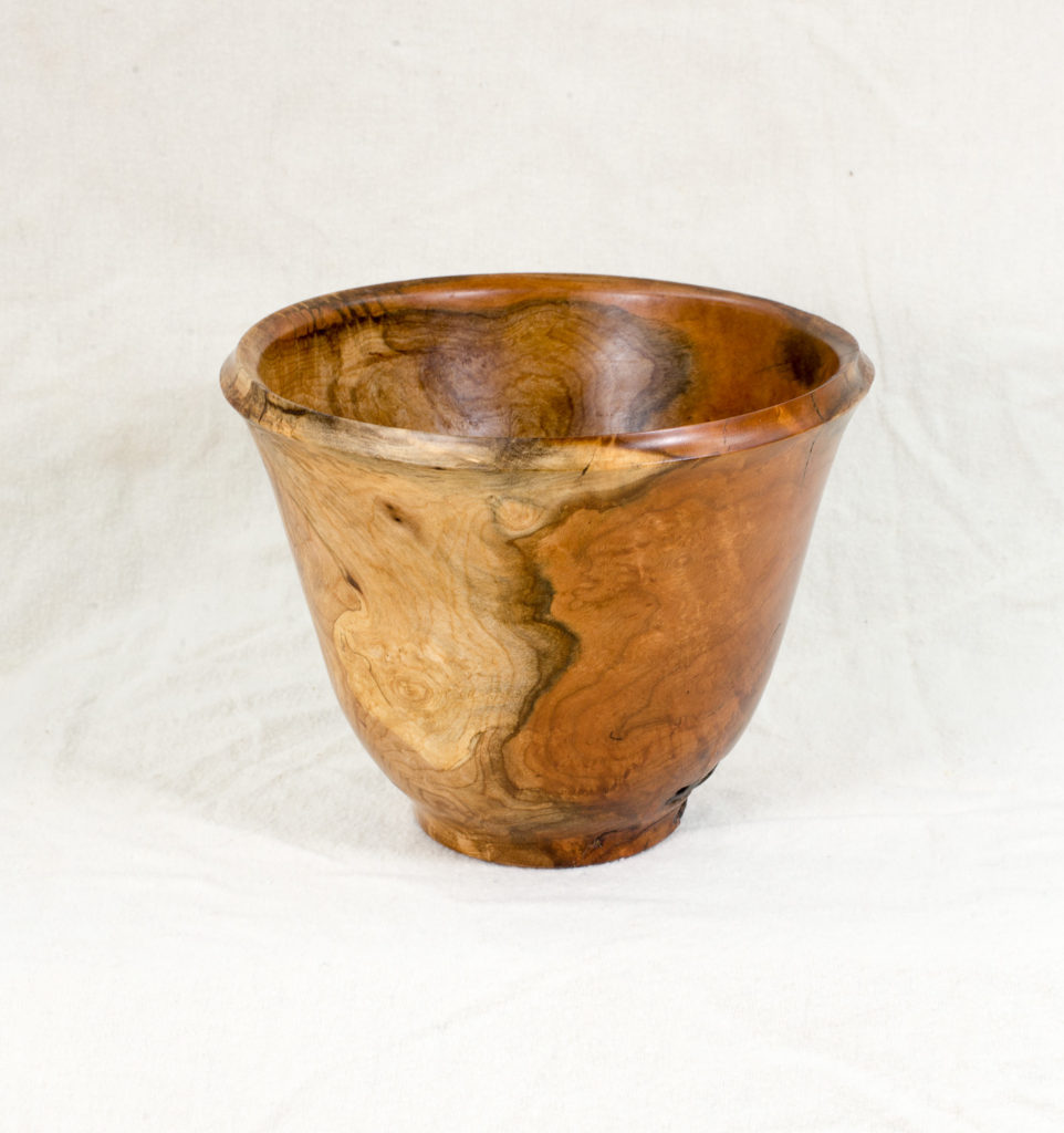 Maple burl, 7 inches diameter x 5 inches high