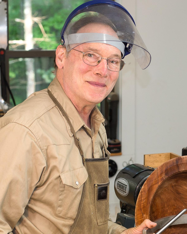 Sandy Renna, Woodturner