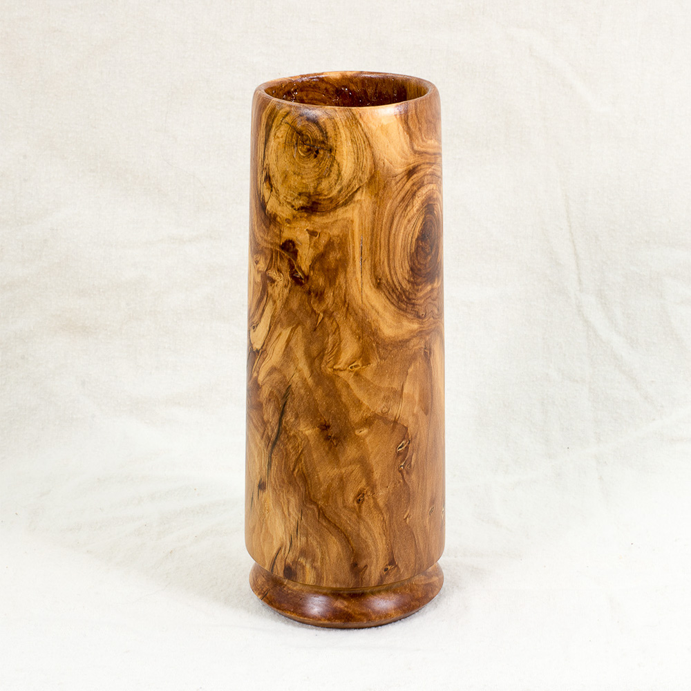Apple Vase, 3 inches x 8 inches by Sandy Renna