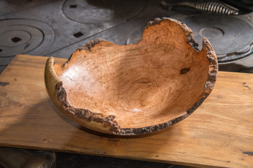 Cherry Burl, 13 x 4 inches