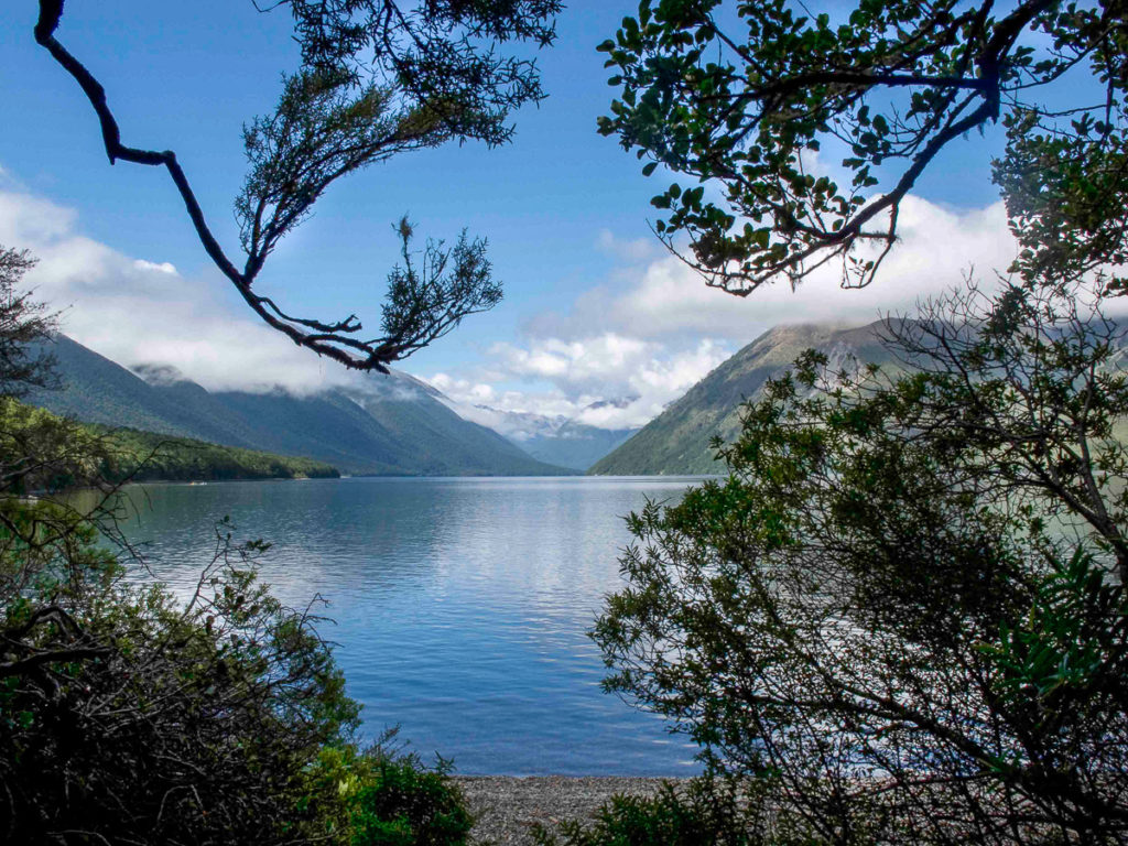 New Zealand Lakeside View