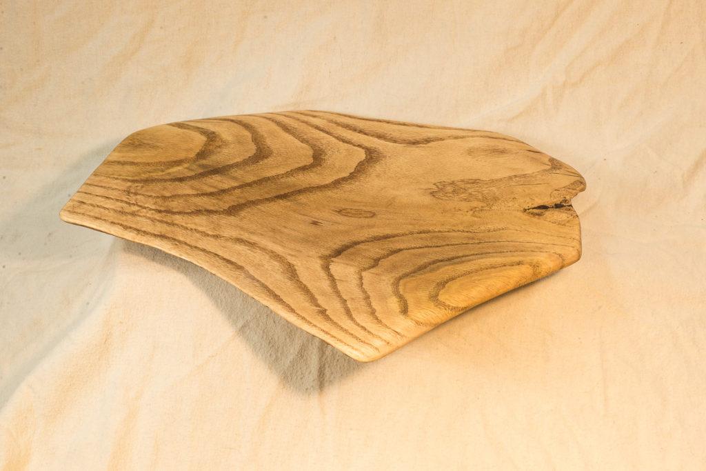 Oak Platter, 16 x 13 x 1.5 inches, $145