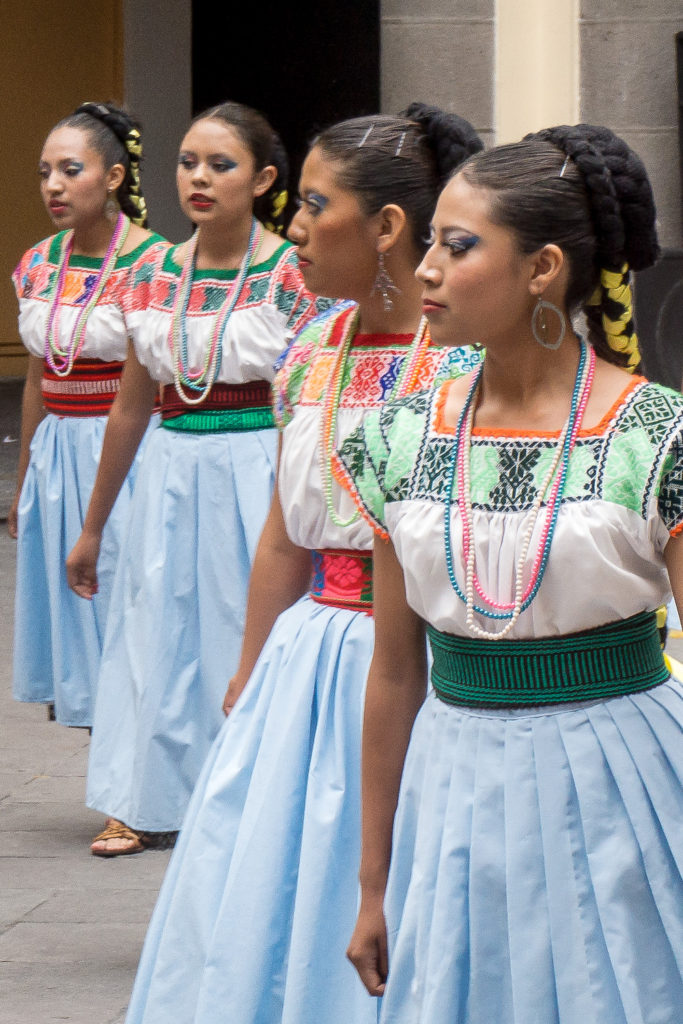Traditional Dancers, Puebla, Mexico