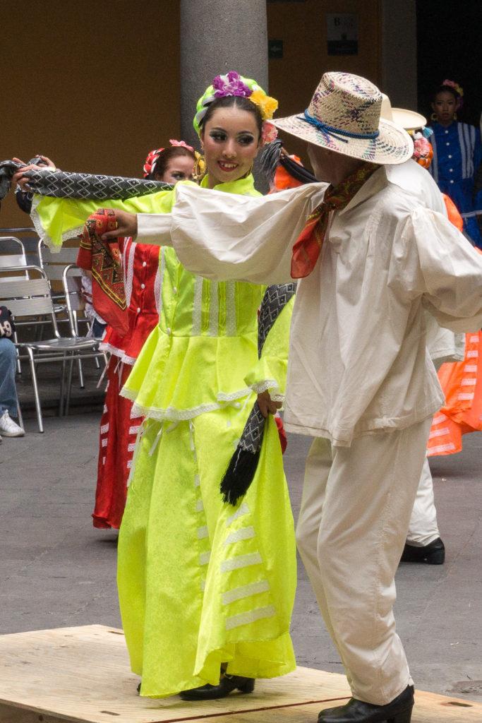 Traditional Dancers, Puebla, Mexico