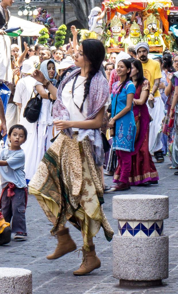 Religious Celebration, Puebla, Mexico