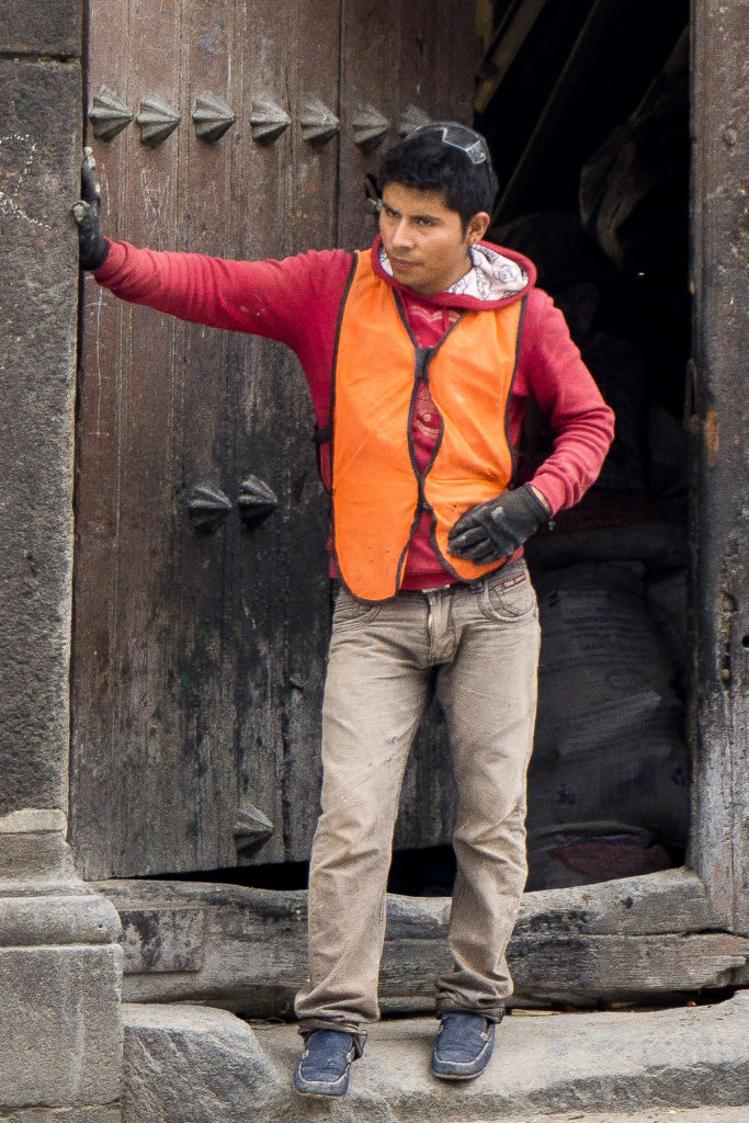 Laborer, Puebla, Mexico