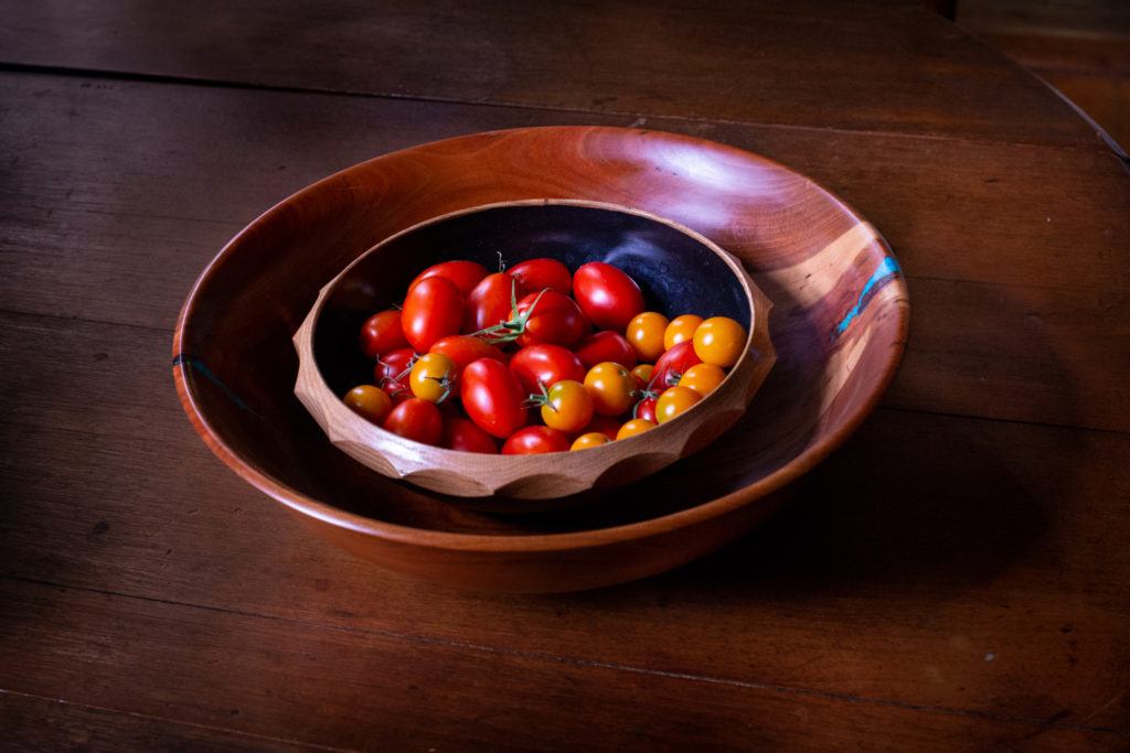 Two bowls with Tomatoes