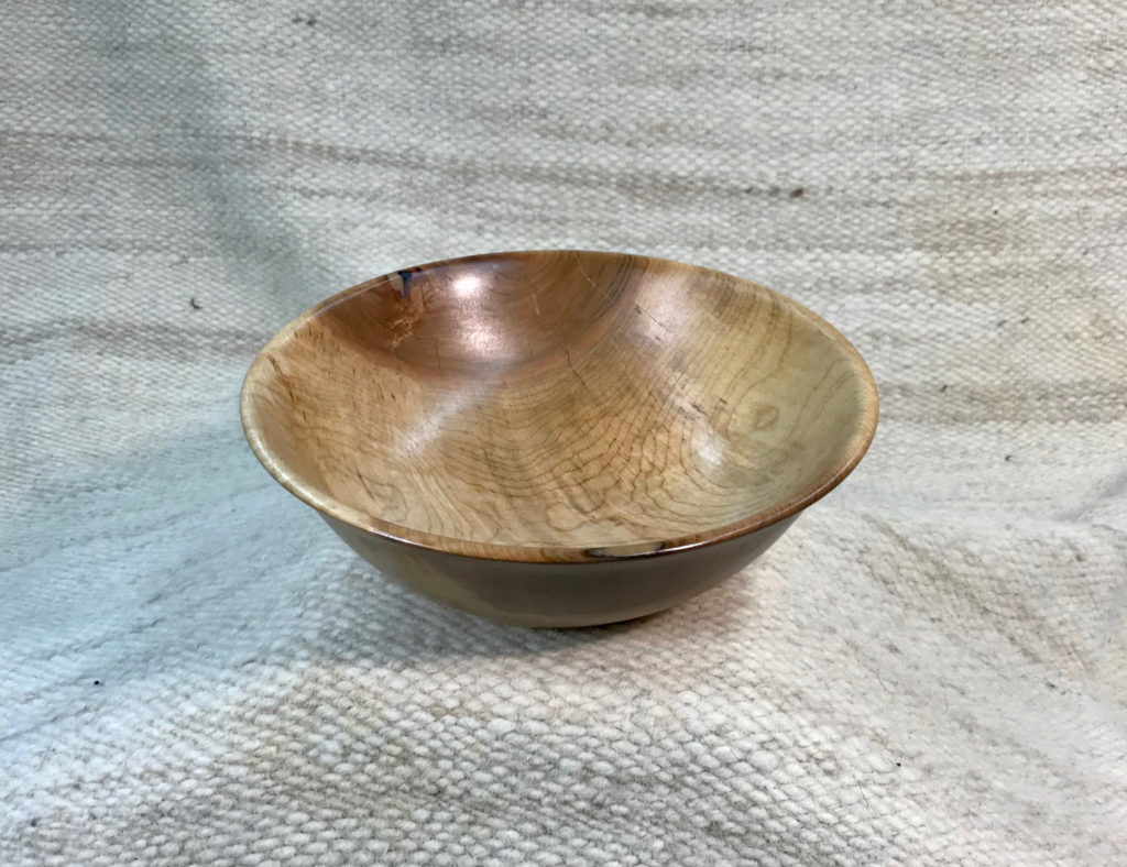 Silver Maple, 8x3.5 inches