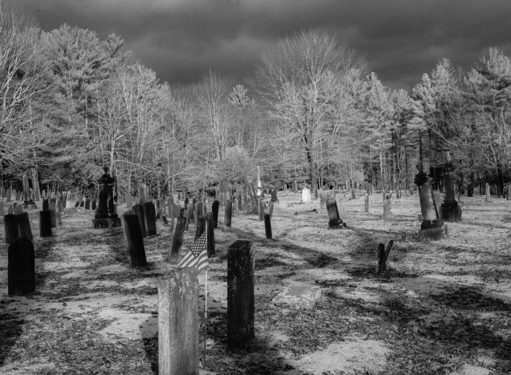 Warwick Cemetery by Sandy Renna
