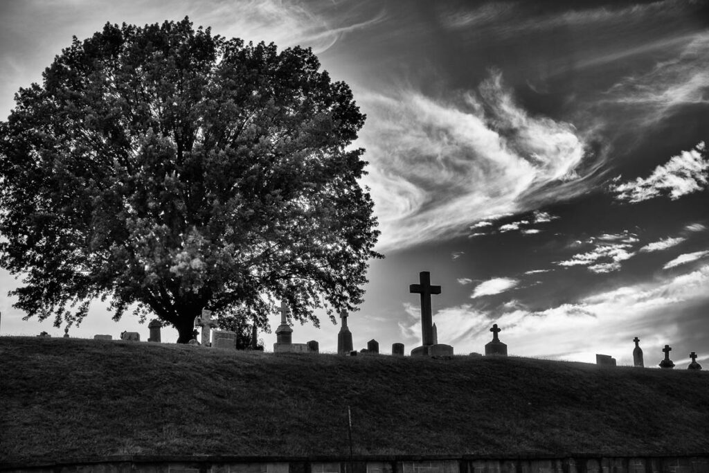Georgetown Cemetery by Sandy Renna