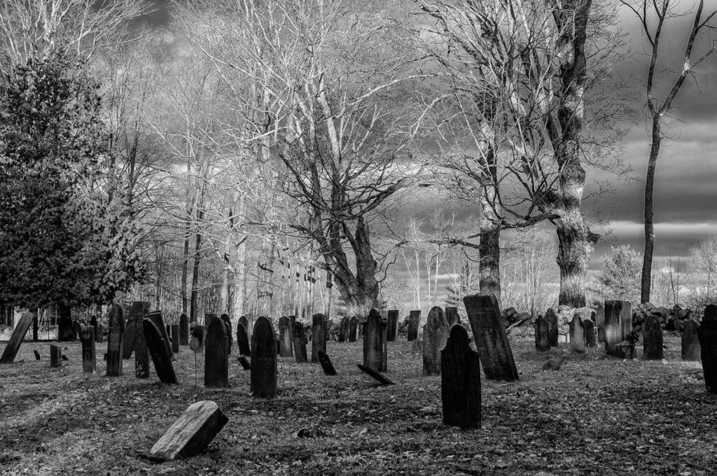 North Orange Cemetery by Sandy Renna